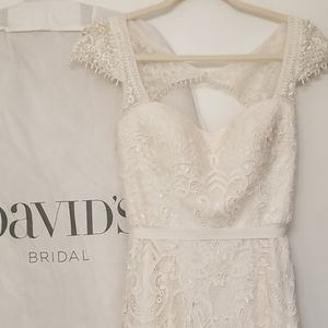 Melissa Sweet David's Bridal wedding gown